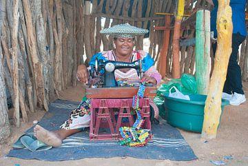 Vrouw van de Herero Stam van