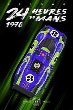 24 Heures du Mans 1970 Vert