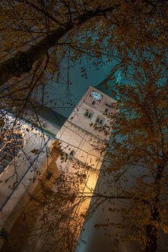 Deventer 's nachts van Martin Podt