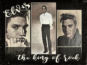 Elvis  -  de koning van de rock