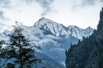 Annapurna 2 im Himalaja-Nepal von Tessa Louwerens