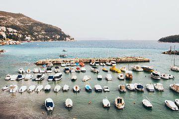 Bootjes in Dubrovnik van
