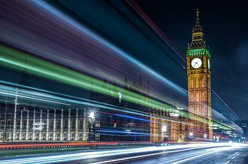 Big Ben am frühen Abend von Gerry van Roosmalen