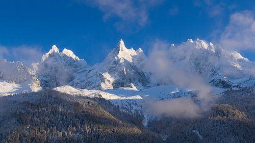 Aiguilles de Chamonix van