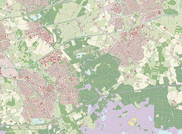 Kaart vanGeldrop-Mierlo