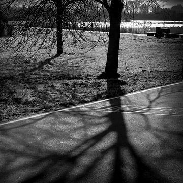 Almere light am Sonntag von Rene  den Engelsman