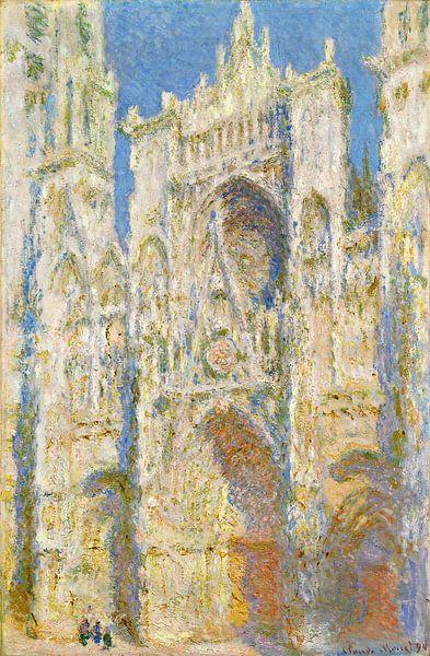 de kathedraal van Rouen, West Façade, Zonlicht, Claude Monet van Liszt Collection