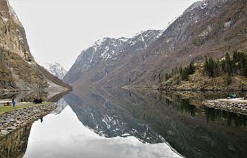 bergen in het meer von Eugene Lentjes