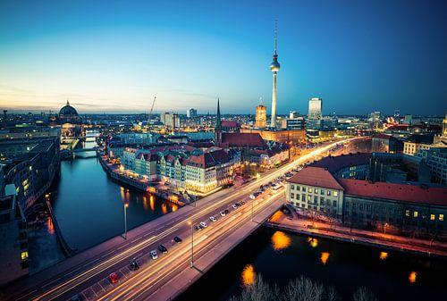 Berlin Skyline von davis davis