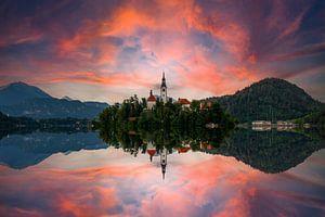 Bled, Slovenië van Markus Weber