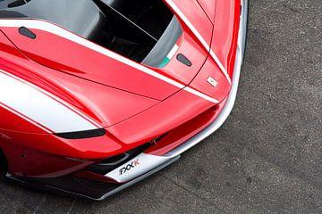 Ferrari FXX-K voorvleugel van Tim Vlielander