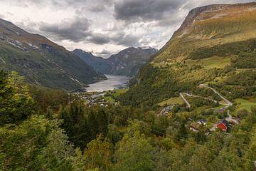 Geirangerfjord Norway sur