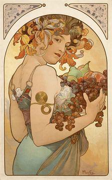 Früchte, Alfons Mucha