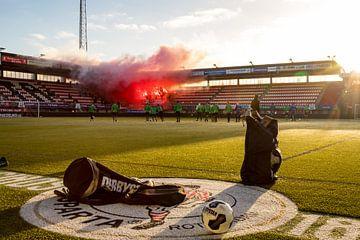 Stadion Het Kasteel, stadion van Sparta Rotterdam van Martijn Mureau