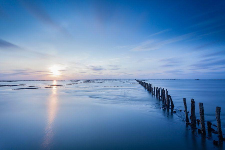 Blue sunset / Zonsondergang in het blauw