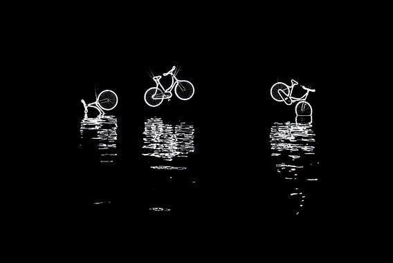 Amsterdam Light Festival 2016 - Canal Bikes