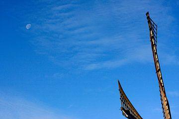 Molen en Maan van Foto Goof