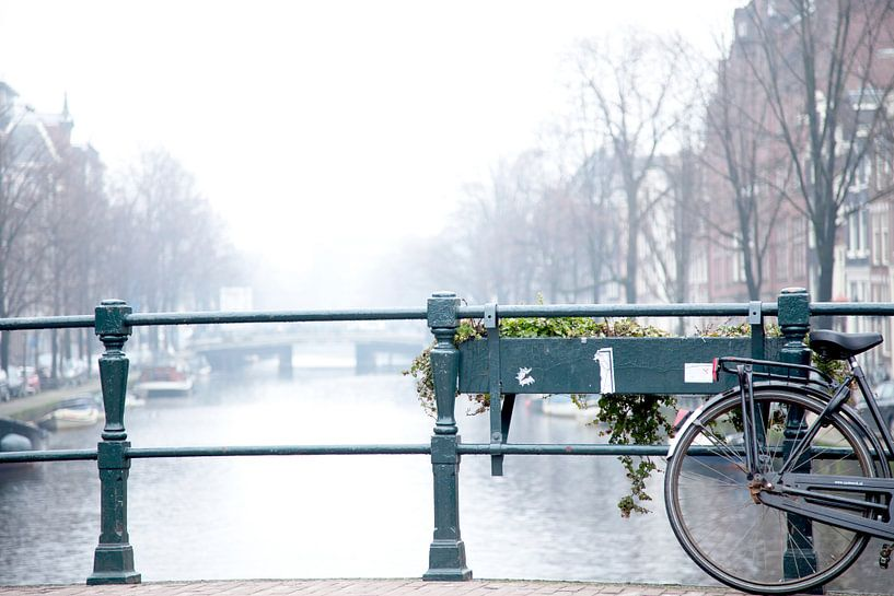Amsterdamse grachten  van Studio LINKSHANDIG Amsterdam