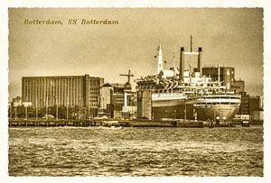 Oude ansichten: SS Rotterdam  van