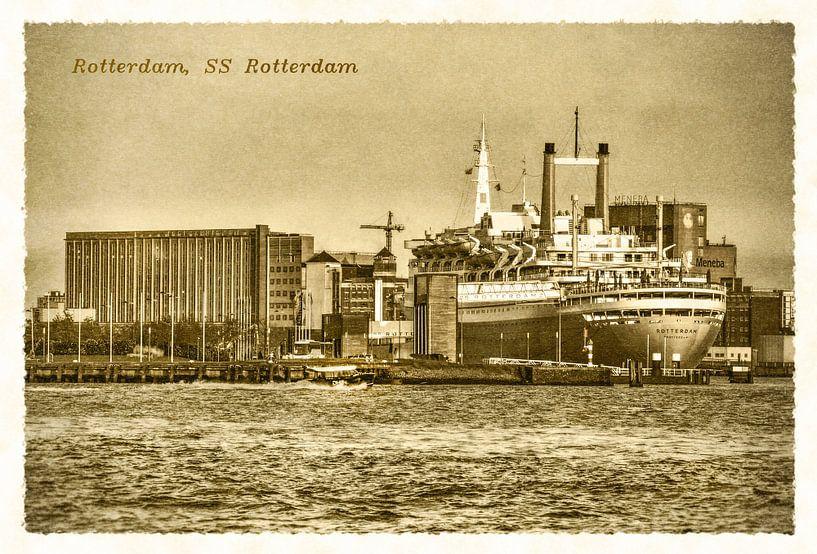 Oude ansichten: SS Rotterdam  van Frans Blok
