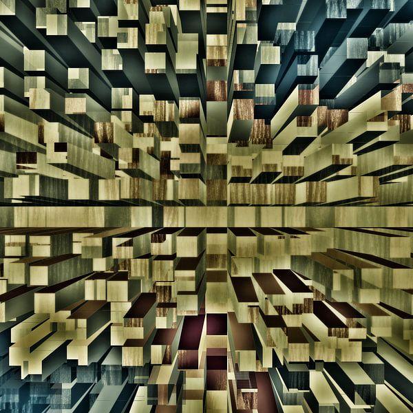Tiefe Blöcke Raum von Groothuizen Foto Art