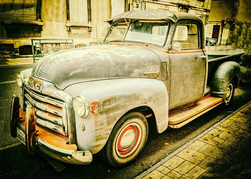 Pick-upwagen, Chevrolet Advance, Design (3100), 1948 van Fotografie Arthur van Leeuwen