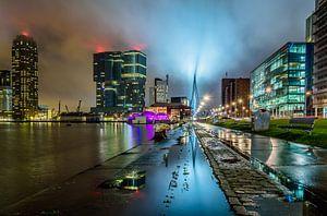Regen in Rotterdam van