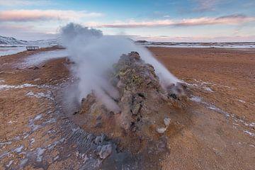 Volcanic steam vent van Andreas Jansen