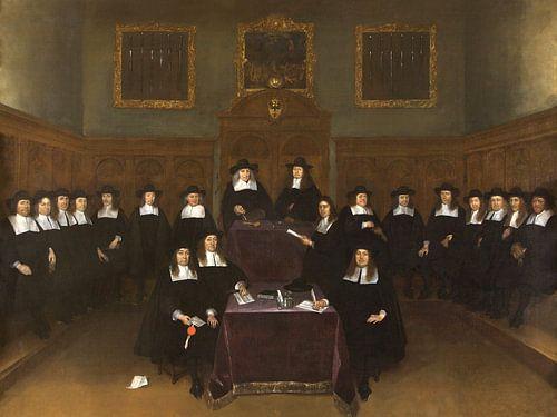 De Stadsraad of Magistraat van Deventer, Gerard ter Borch van Meesterlijcke Meesters
