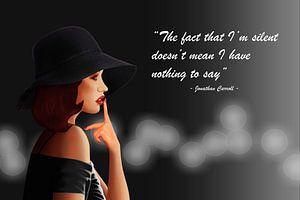 Die schweigende Frau von
