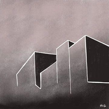 Beton im Einklang mit der Landschaft von Martin Groenhout