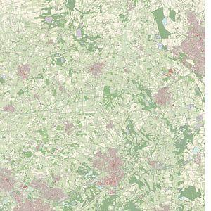Kaart vanDiemen
