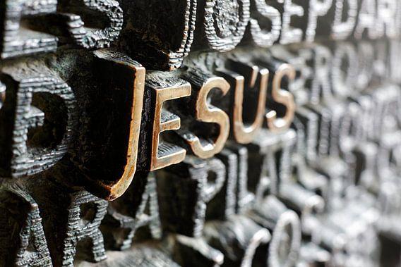 de deur van Sagrada Familia jezus