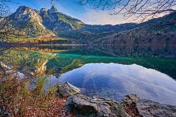Alpsee Hohenschwangau van Einhorn Fotografie