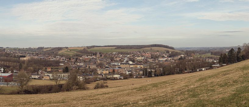 Panorama van Gulpen in Zuid-Limburg van John Kreukniet