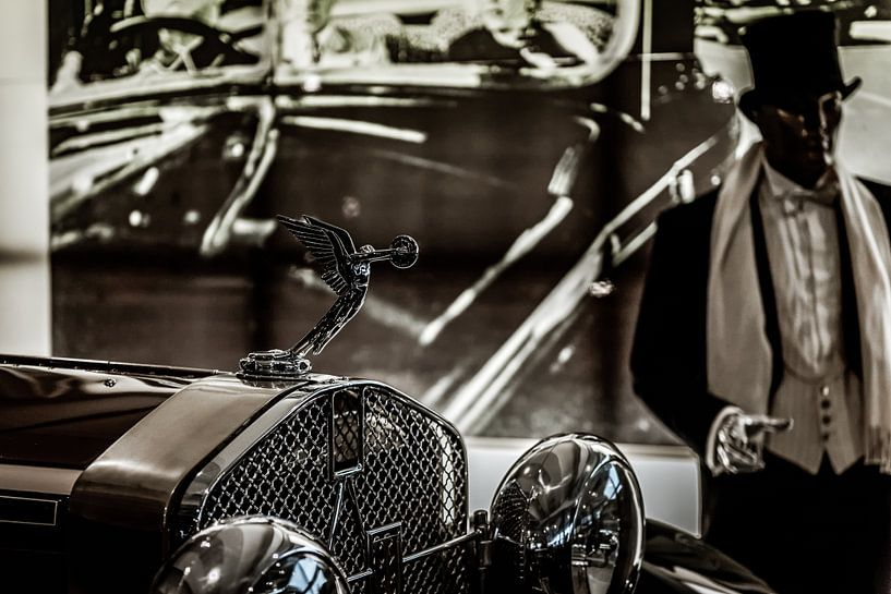 Radiator ornament Packard van autofotografie nederland