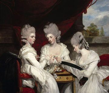 The Ladies Waldegrave , Joshua Reynolds sur