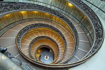 Vaticaanstad trap van Otof Fotografie