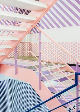 Tokio trappenhuis, Japan von Anki Wijnen