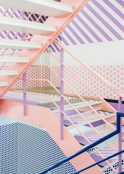 Tokio trappenhuis, Japan van Anki Wijnen