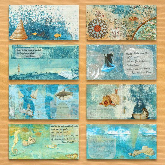 het boek van de zee van het Noorden