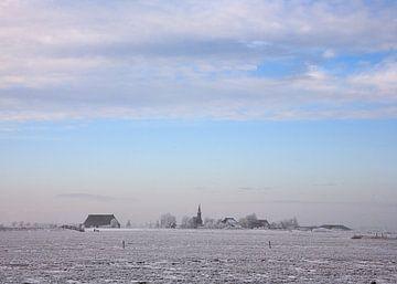 Warstiens in de Winter von Fonger de Vlas