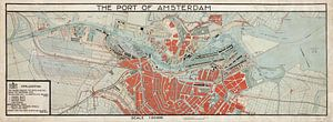 The port of Amsterdam
