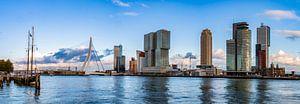 Panorama Rotterdam Skyline