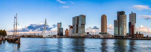 Panorama Rotterdam Skyline von Sylvester Lobé