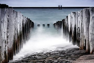 Westkapelle Strand, Zeeland von Eddy Westdijk