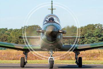 Disque complet PC-7 de l'armée de l'air autrichienne sur Marc Hederik