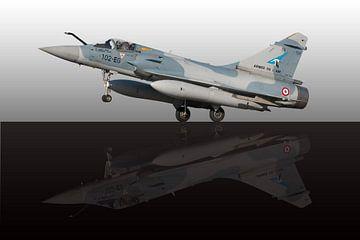 Mirage 2000-5 van Nico van Remmerden