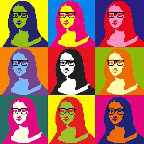 Hipser Mona Lisa van