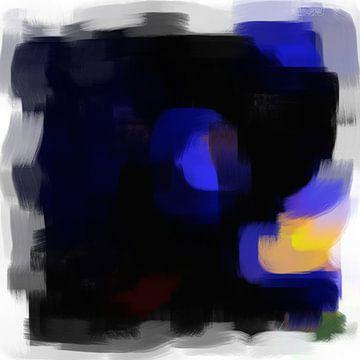 Abstrakte Pinselstriche VI von Maurice Dawson